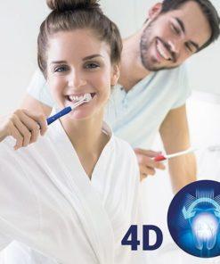 Escova de dentes 4D (pack de 2)
