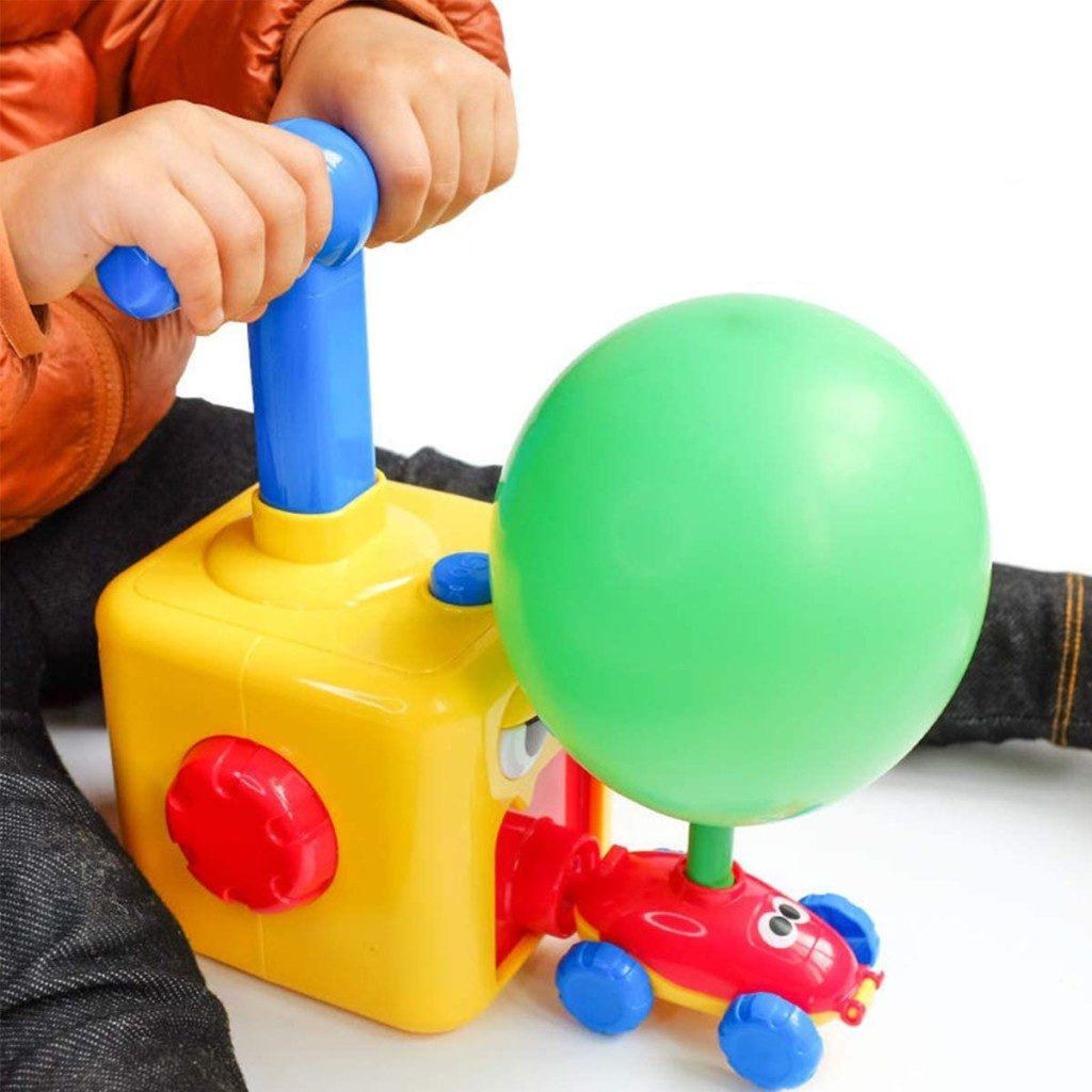 Brinquedo de carro balão