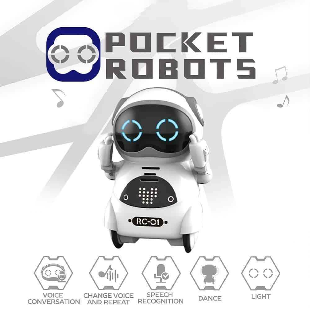 MINI ROBOT DE BOLSO EDUCATIVO
